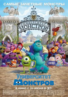 Университет монстров / Monsters University [2013, BDRip]