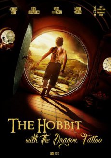 Хоббит с татуировкой дракона / The Hobbit: An Unexpected Journey (2013) DVDRip