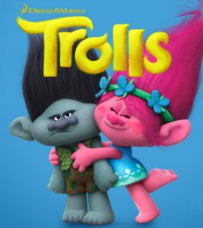 Тролли / Trolls (2016) TS