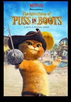Скачать 3 сезон Приключения кота в сапогах через торрент