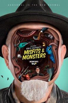 Маргиналы и монстры Бобкэта Голдтуэйта [1 сезон, 1-6 серии из 10] (2018) / Bobcat Goldthwait's Misfits & Monsters