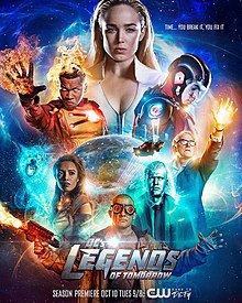 Легенды завтрашнего дня [4 сезон, 1-12 серии из 16] (2018)  / DC's Legends of Tomorrow